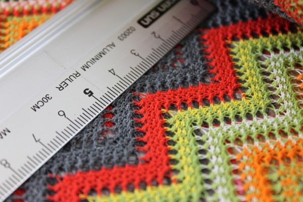 Baumwolle | gehäkelt | Indianer Muster