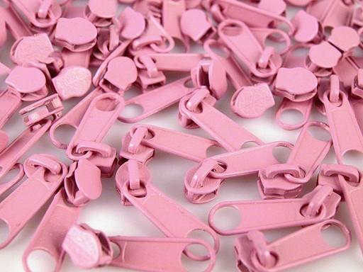 Zipper | Reißverschluss | endlos | Spirale 3mm | rosa