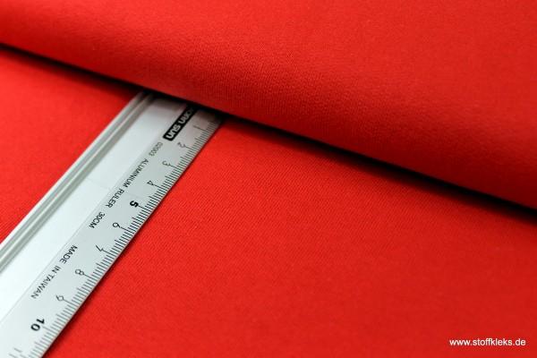 Sweat | Uni | rot | 100% Baumwolle