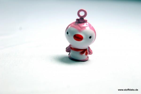 Glöckchen | Pinguin | rosa