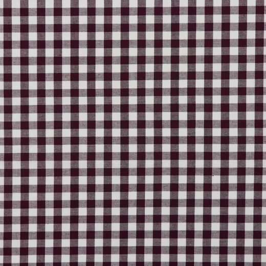 Baumwolle | Vichy | 8mm | lila/weiß