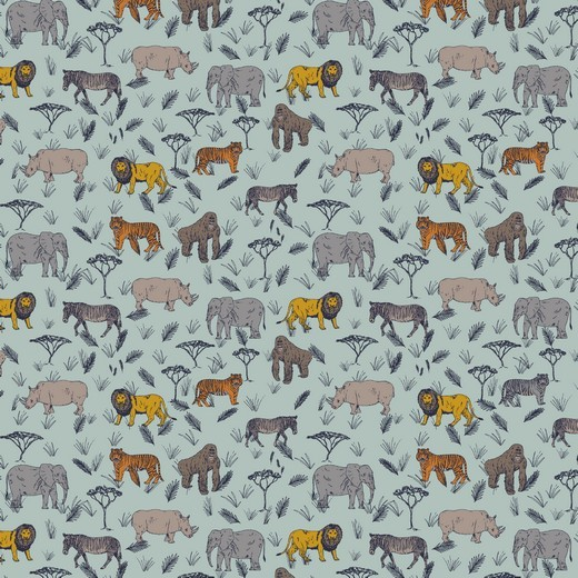 Baumwolle | bedruckt | safari