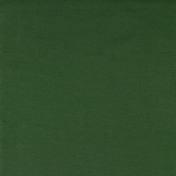 Bündchen | Baumwolle | Uni | Jagdgrün