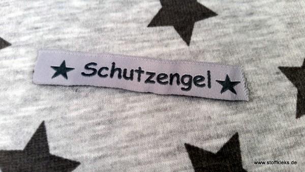 Applikation | Label | Schutzengel | grau