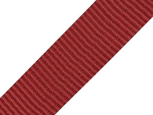 Gurtband | 40mm | dunkelrot