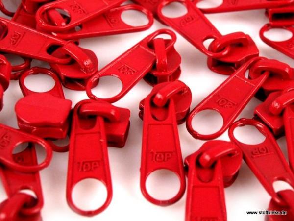 Zipper | Reißverschluss | endlos | Spirale 5mm | rot