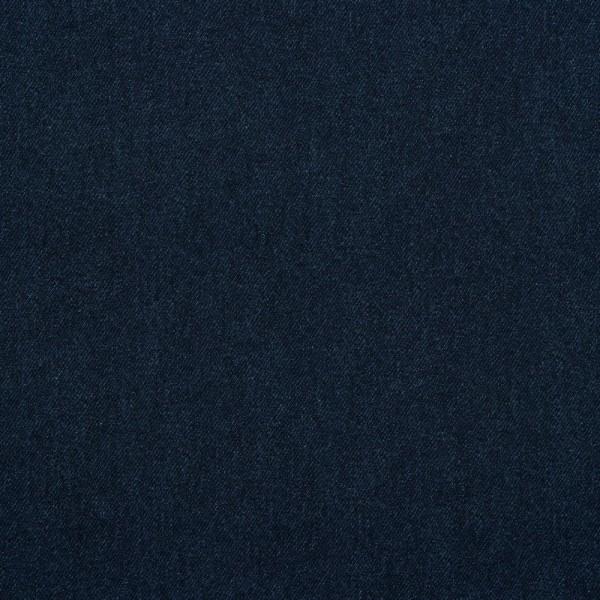 Sommersweat   French Terry   Jeansoptik   dunkelblau