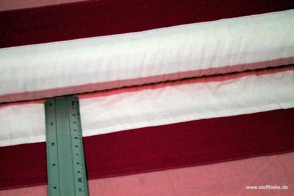 Baumwolle | bedruckt | big stripes | pink