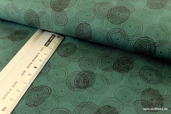 Baumwolle | bedruckt | stoffabrics | Kyoto Collection #MCS 15-055 | tannengrün