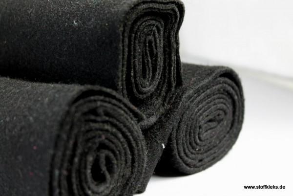Filz | 1mm | schwarz