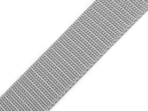 Gurtband | 25mm | hellgrau
