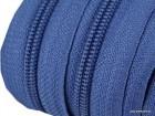 Reißverschluss   endlos   Spirale 5mm   Steinblau