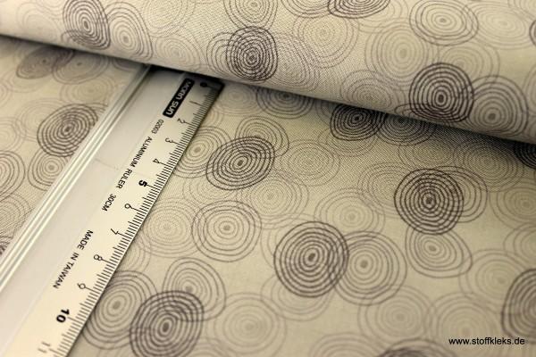 Baumwolle | bedruckt | stoffabrics | Kyoto Collection #MCS 15-055 | Latte Macchiato