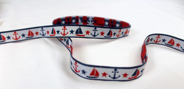 Webband | SAILING | weiss
