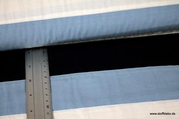 Baumwolle | bedruckt | big stripes | blau