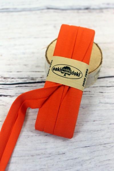 Bias Jersey Schrägband/Einfassband   40 / 20mm   3m   Nr.934   orange